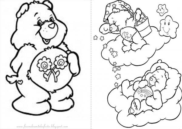 Imagens Dos Ursinhos Carinhosos Para Imprimir