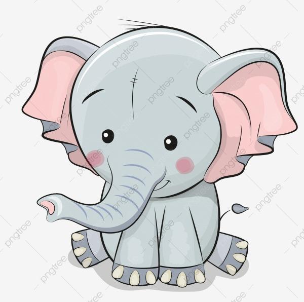 Desenho De Elefante, Animal, Mega, O Elefante Png Imagem Para