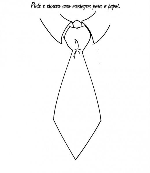 Desenho De Gravata