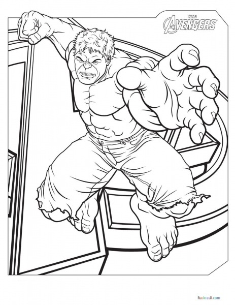 Desenhos De Vingadores Para Colorir 110 Peças  Imprimir No Site