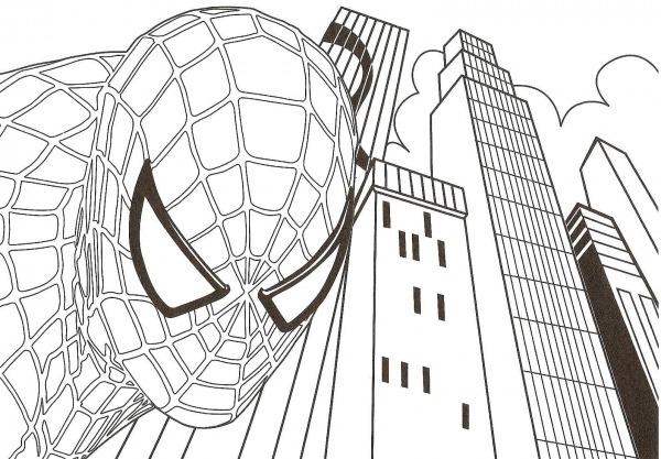 Desenhos Do Homem Aranha Para Colorir  Imprima Super Herói Online