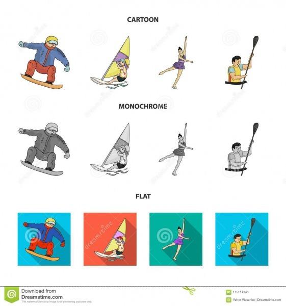 Snowboarding, Navegando Surfar, Patinagem Artística, Kayaking Os