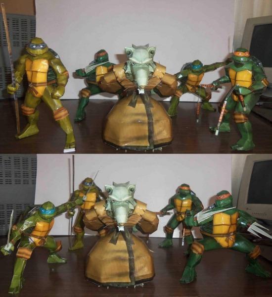 Tartarugas Ninjas Projeto Digital Para Imprimir