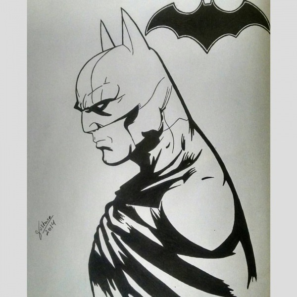 S  Admograph — Batman Day! ✏✒🎨  Draw  Drawing  Desenho