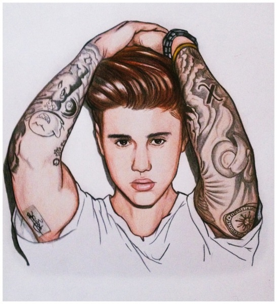 Drawing & Scribble — Justin Bieber I Made This Drawing For A