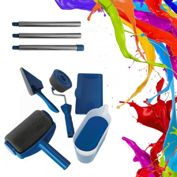 Wall Paint Roller Decorative Roller Paint Set Kit Rodillos Para