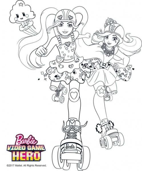 Desenhos Para Colorir Barbie