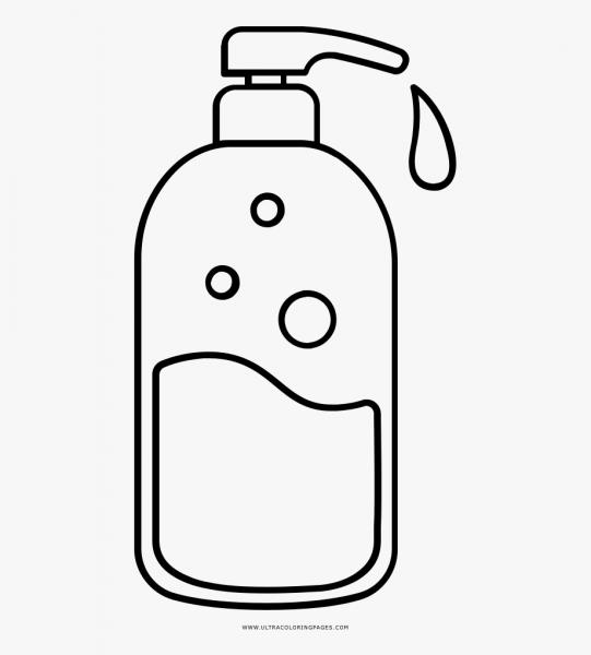 Desenhos De Xampu Para Colorir Pintar Imprimir