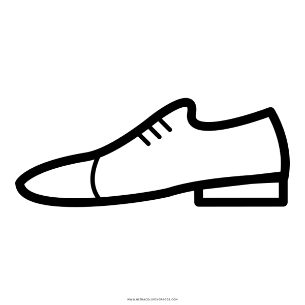 Sapato Desenho Para Colorir