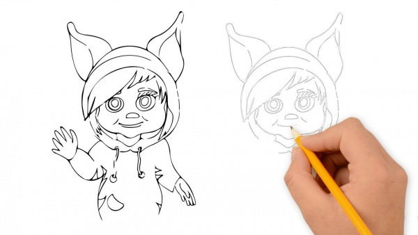 How To Draw Ava (from Dave And Ava)