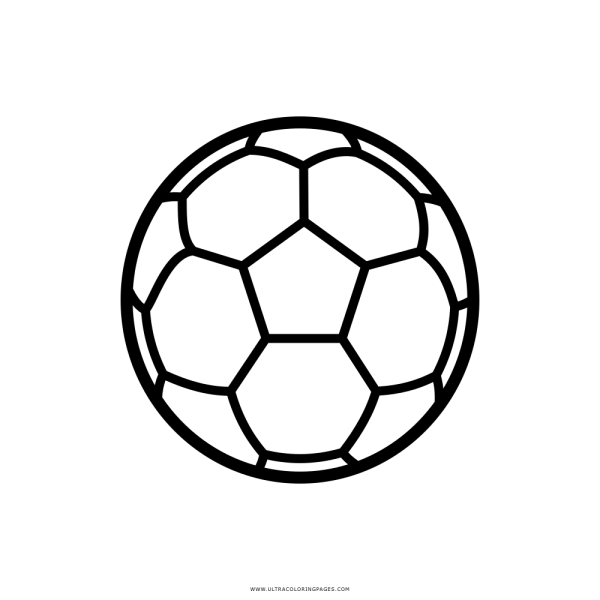 Bola De Futebol Desenho Para Colorir