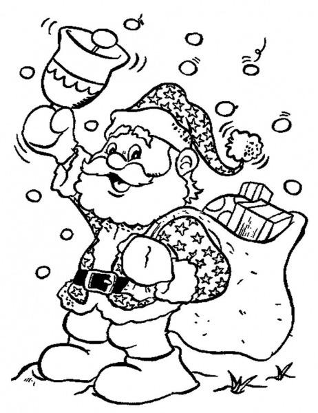 Sino Do Papai Noel Para Colorir » Imagem Legal
