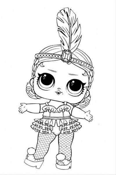 Free Lol Doll Coloring Pages