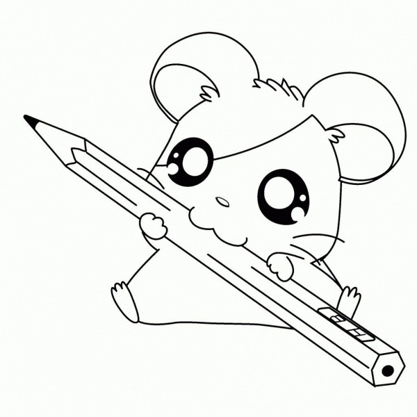 Desenhos Kawaii Para Colorir 34