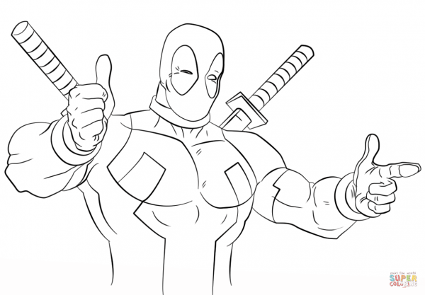 Cartoon Deadpool