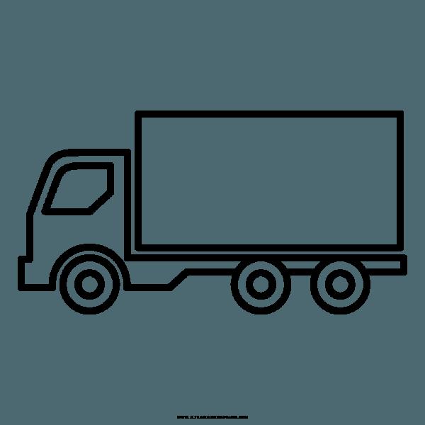 Caminhão Desenho Para Colorir