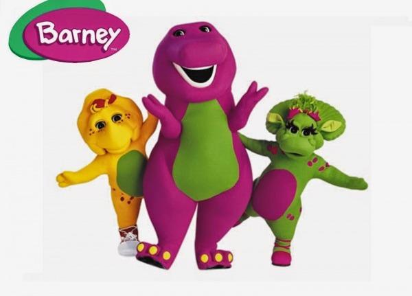 Desenhos Para Colorir E Imprimir  Barney E Seus Amigos – Desenhos