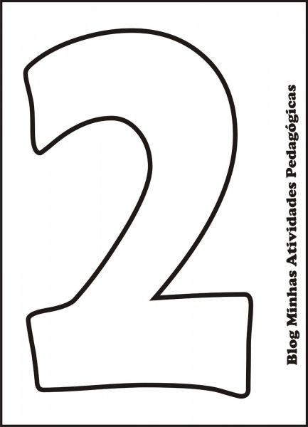 Moldes De Numeros Para Imprimir 4 Jpg (1155×1600)