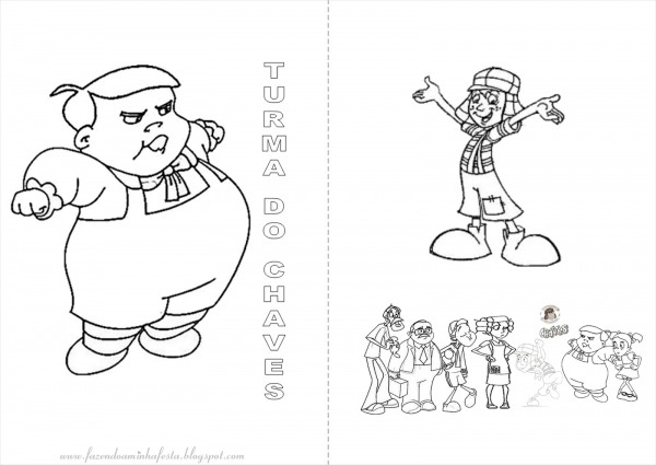 Desenhos Para Colorir Do Chaves