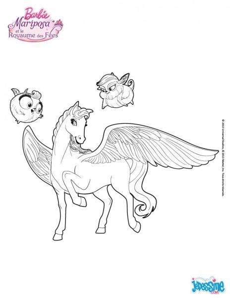 Inspirador Desenhos Para Colorir Da Barbie Butterfly