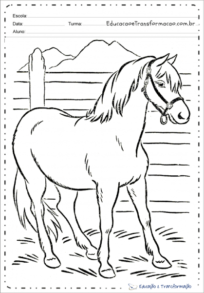 Desenhos De Animais Da Fazenda