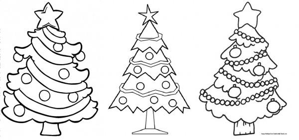 Desenhos De Natal Para Colorir  135 Modelos Para Imprimir Grátis!