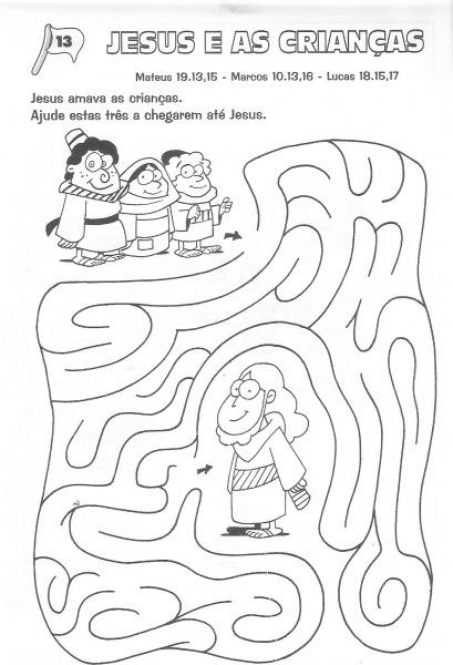 Jesus E As Crianças – Labirinto