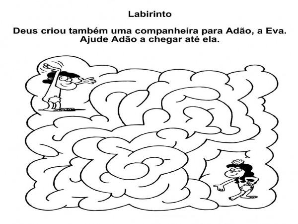 Desenho De Labirinto De Manjedoura De Jesus Para Colorir