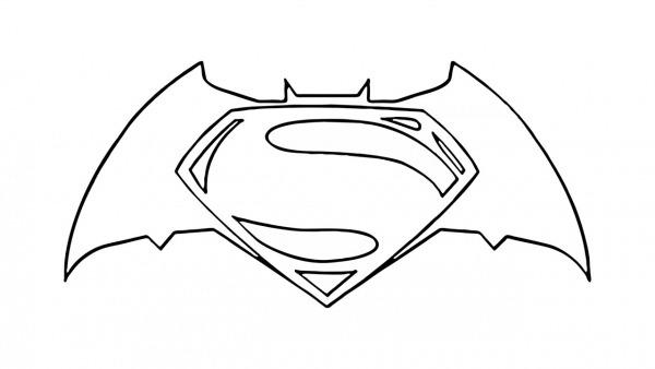 Como Desenhar O Símbolo Do Batman Vs Superman (emblema)