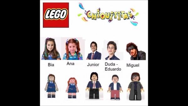 Chiquititas Em Versão Lego