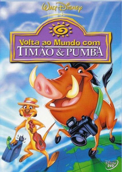 Around The World With Timon & Pumbaa (video 1996)