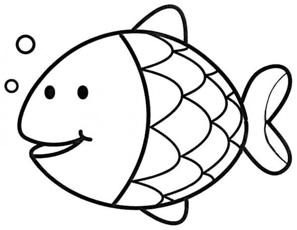 Peixe Para Colorir E Imprimir