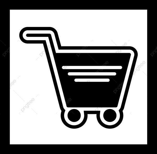 Desenho Do ícone Do Carrinho De Compras, Carrinho, Cart Icon