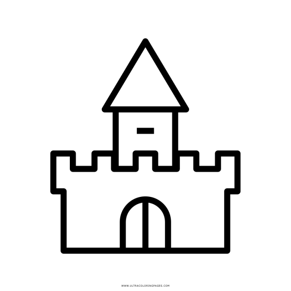 Castelo Coloring Page