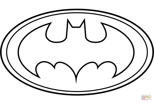 Molde Logo Batman Morcego Eva E Feltro