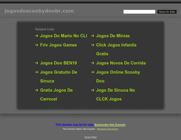 Jogos De Scooby Doo Competitors, Revenue And Employees