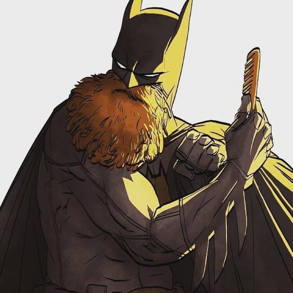 Bat Beard Via @k B Fit Regram Beardman  Batman  Beard  Beards