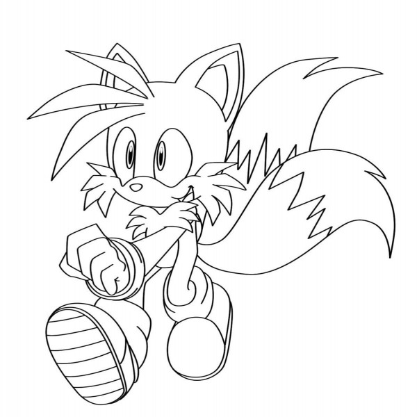 Sonic Desenhos Para Colorir