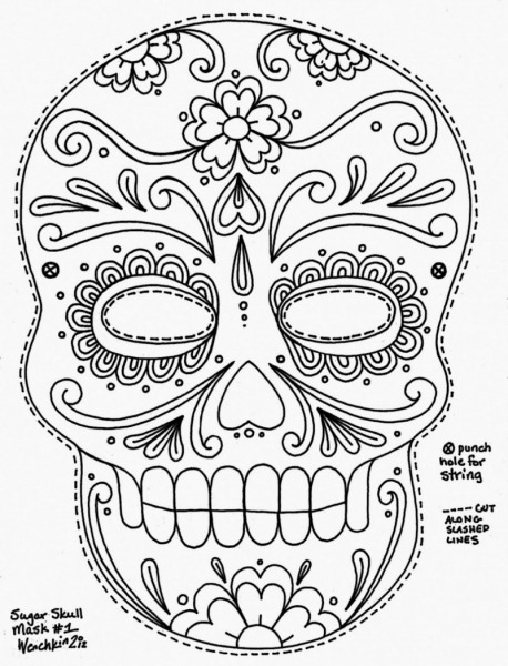 Mdesafio Criativo  Mais De 120 Máscaras De Carnaval Para Imprimir