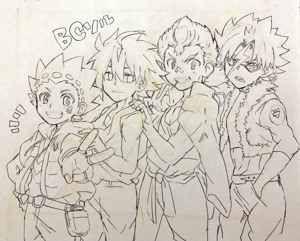 Pin On Beyblade Burst Characters
