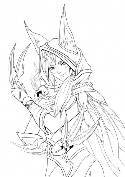 Desenhos League Of Legends Para Colorir