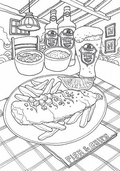 Pin De Solange Farnese Em Colorir Alimentos