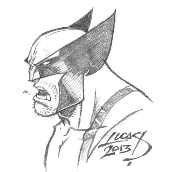 Wolverine Para Colorir