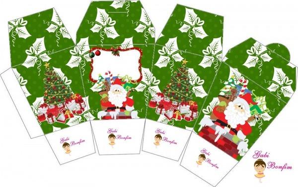 Kit De Personalizados Tema   Natal ( Gratuito )