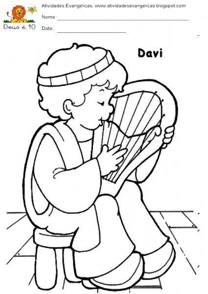 Bonita Desenhos Para Colorir Infantil Evangelico