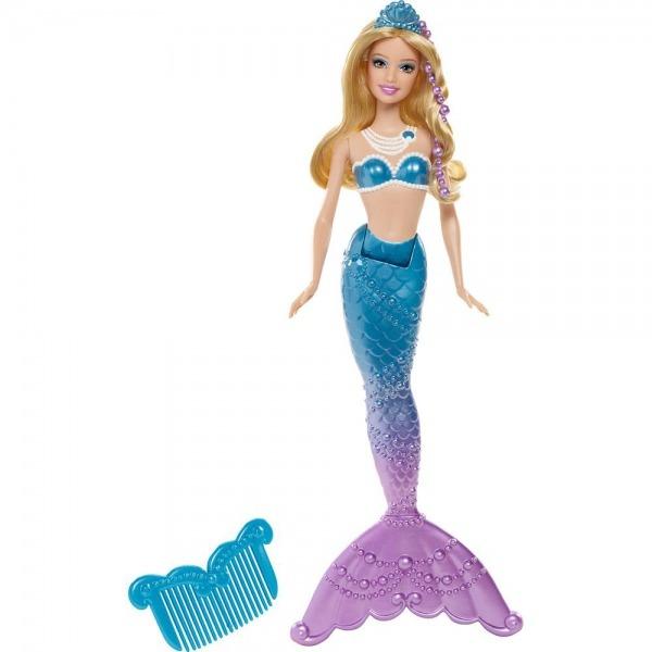 → Barbie E A Sereia Das Pérolas Amiga Sereia Azul Mattel é Bom