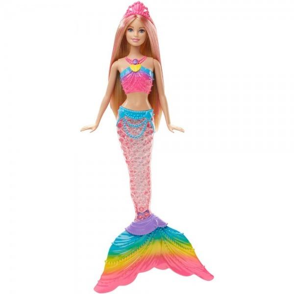 Barbie Sereia Luzes Do Arco