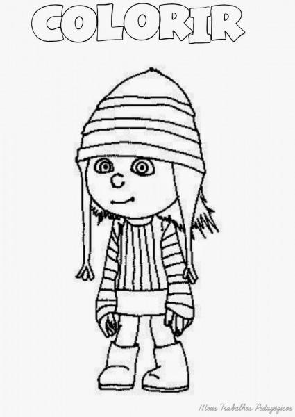 Desenhos Do Meu Malvado Favorito Para Colorir Minions