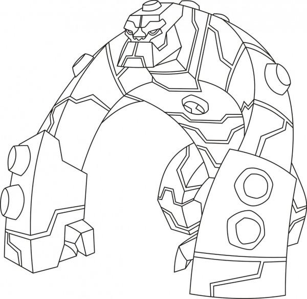 Incrível Desenho Do Ben 10 Para Colorir Online