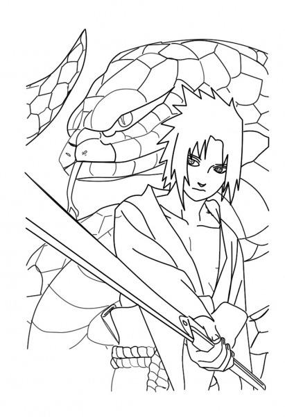 Dibujos Para Colorear De Naruto Shippuden Â« Ideas & Consejos
